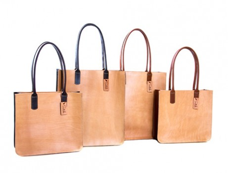 03 Series - Leather Lady Totes - big and small