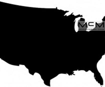Black-United-States-Vector-Map